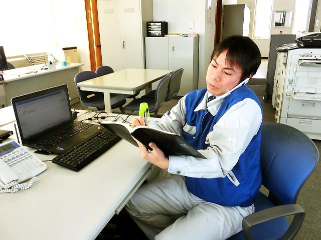 社員インタビュー(営業 2005年新卒入社)